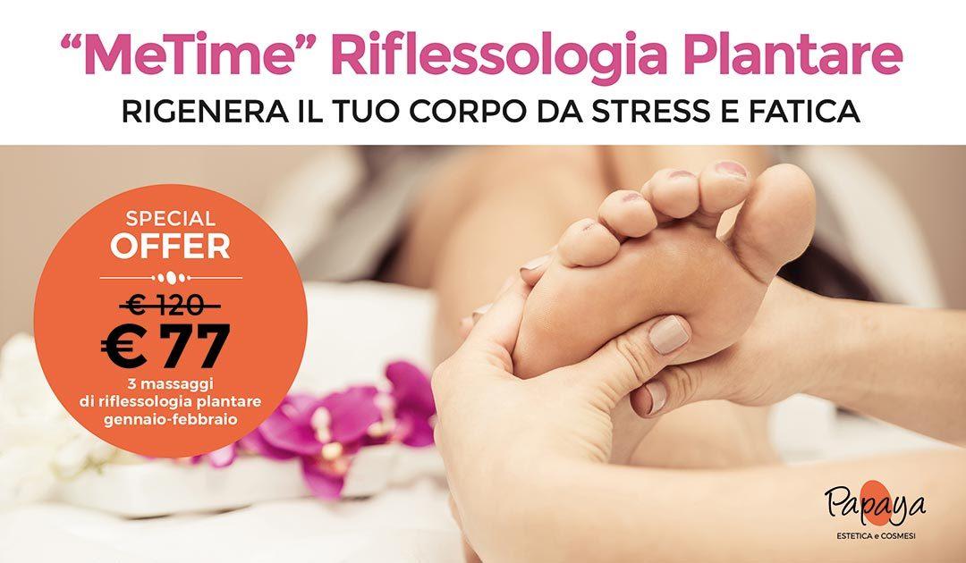 3 massaggi di riflessologia plantare: MeTime