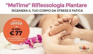 3 massaggi di riflessologia plantare programma MeTime