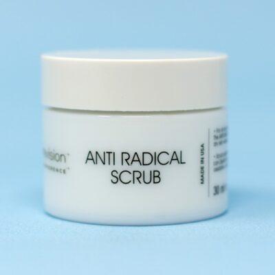 Antiradical scrub viso