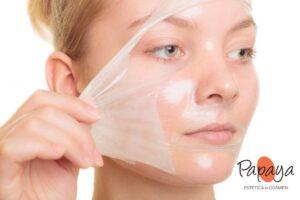 esfoliazione viso con acidi