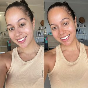 Face Tan Water 2